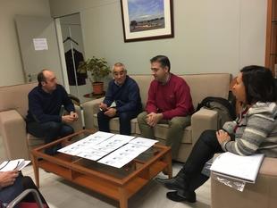 Diputación, CTAEX y CICYTEX ultiman los detalles del acto de entrega de premios de la I Edición de la Cata-Concurso de Aceites de Oliva Virgen Extra