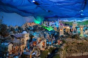 El Belén Artístico Tradicional de Bodonal de la Sierra abre al público este viernes