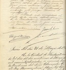 El libro de actas de Pleno de la Diputación de Badajoz de 1916 a 1922, 'documento del mes' del Archivo Provincial