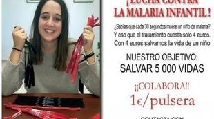 Los alumnos de la R.U. Hernán Cortés promueven la campaña ''Stop malaria: salvar 5.000 vidas''