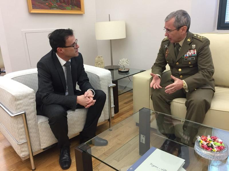 Dacoba se reúne con el presidente de la Diputación