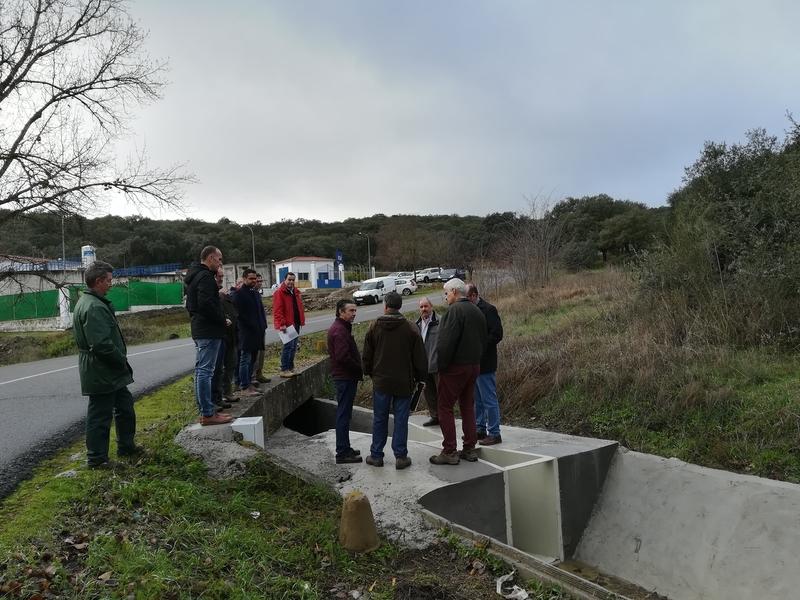 Las obras en las infraestructuras de riego de Piedra Aguda mejoran el abastecimiento y reducen las pérdidas
