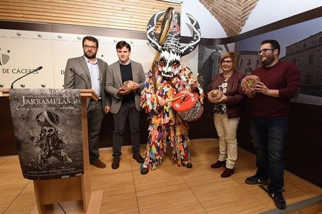 Piornal (Cáceres) espera batir récord de visitantes en la fiesta de Jarramplas al caer en fin de semana