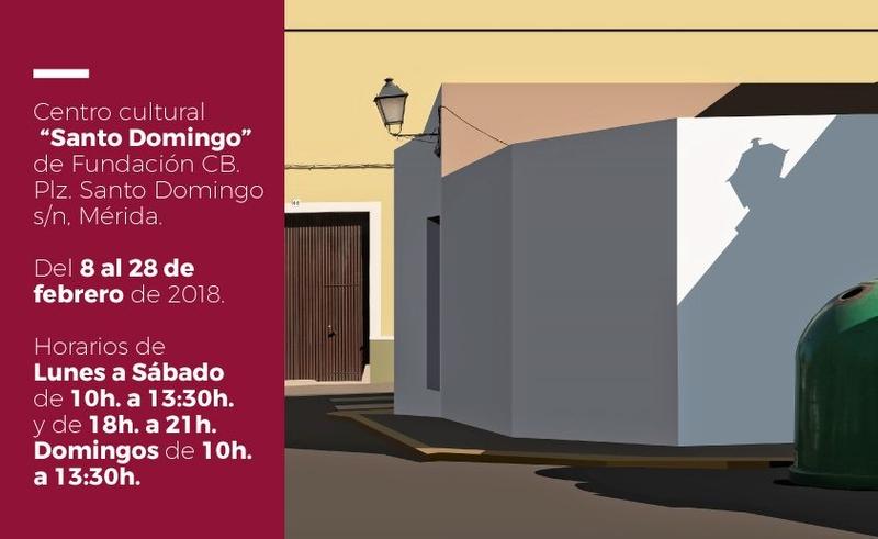 El artista Pedro Casero presenta su exposición ''Barrio centro'' en Mérida
