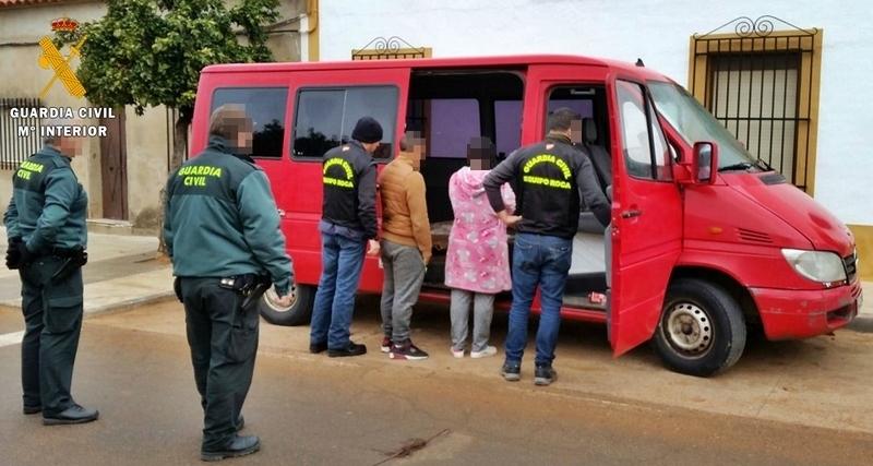 Tres detenidos de una misma familia acusados del robo de 27 toneladas de aceitunas en la provincia