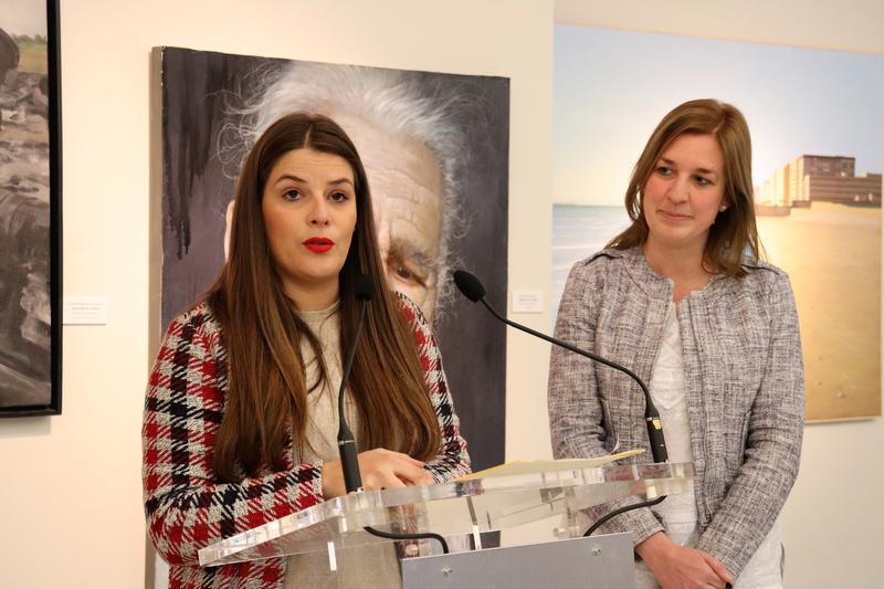 La Diputación acoge las obras finalistas de la XXIII edición del Premio Internacional de Pintura ''Francisco de Zurbarán''
