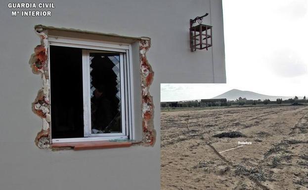 Detenidos dos vecinos de Don Benito por ocho robos de dinero y joyas en casas de campo en Medellín