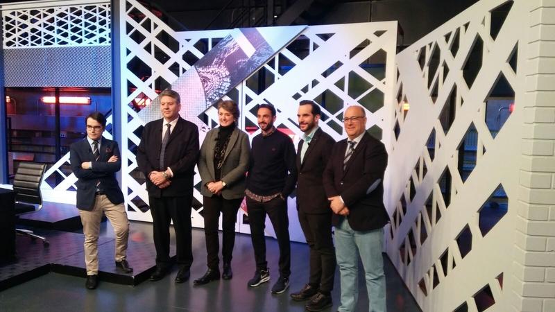 La Diputación de Badajoz ha participado en el programa taurino ''El Kikirikí'' de Movistar+