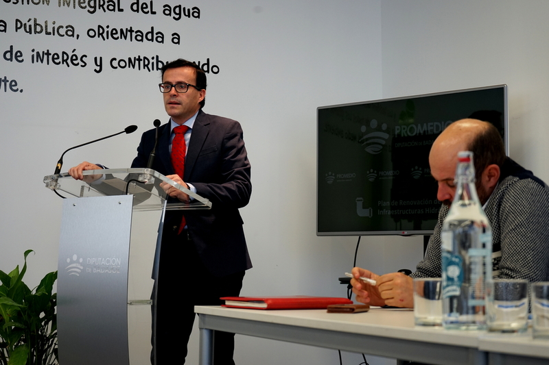 PROMEDIO pone a disposición 367.000 euros para la mejora del abastecimiento de agua en 34 municipios