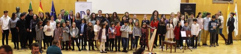 Alumnas del Conservatorio de música ''Juan Vázquez'' han sido premiadas en el concurso nacional ''Arpa Plus''