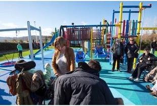 La Inclusión y la educación en torno a la naturaleza, claves en el nuevo parque infantil adaptado que estrena El Cuartillo