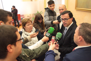 La Diputación de Badajoz se compromete a iniciar las obras del Hospital Provincial en cuanto reciba la licencia