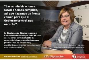 """Cordero: """"Las administraciones locales han cumplido, así que hagamos un frente común para que el Gobierno nos escuche"""""""