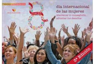 Mujeres y hombres, niños y niñas por la Igualdad son la voz de la campaña de la Diputación del 8-M