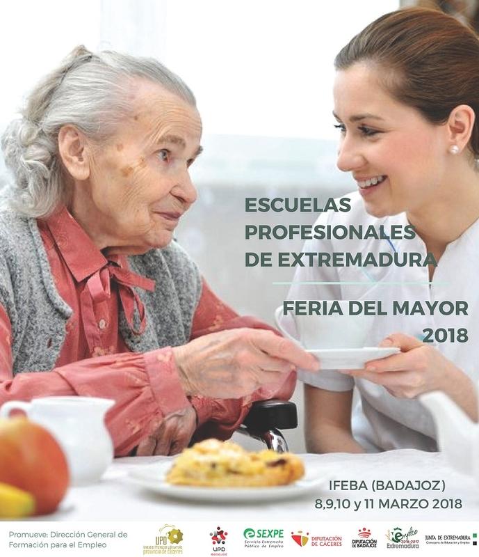 La Diputación de Badajoz participa en la Feria del Mayor con la Unidad de Promoción y Desarrollo Guadiana VIII
