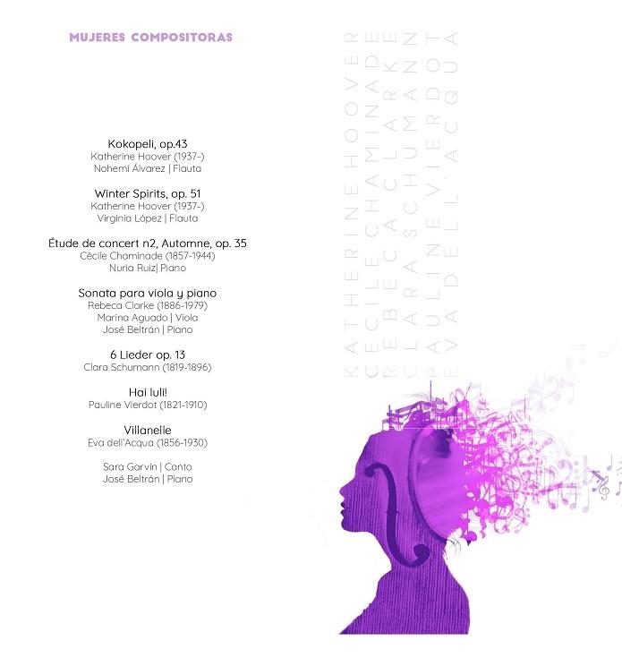 Música de mujeres para celebrar su Día Internacional