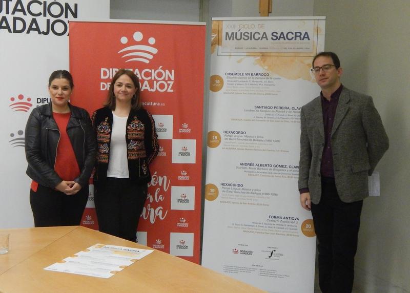 Víctor Sordo, Manuel Pascual y Forma Antiqva actuarán en el XXIII Ciclo de Música Sacra en la provincia de Badajoz
