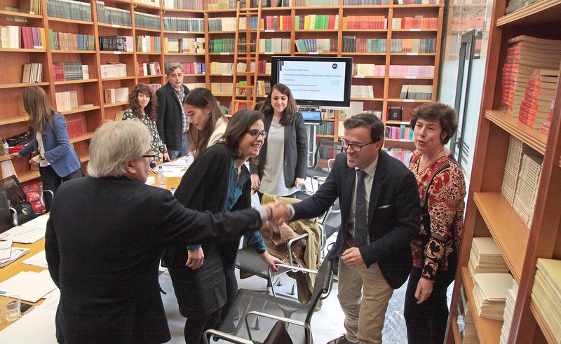 Partenalia celebra una de sus reuniones ordinarias en la Diputación