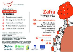 Zafra contará a partir de mayo con una nueva Lanzadera de Empleo