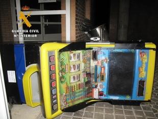 Detenido intentando robar una máquina recreativa en Villafranca de los Barros