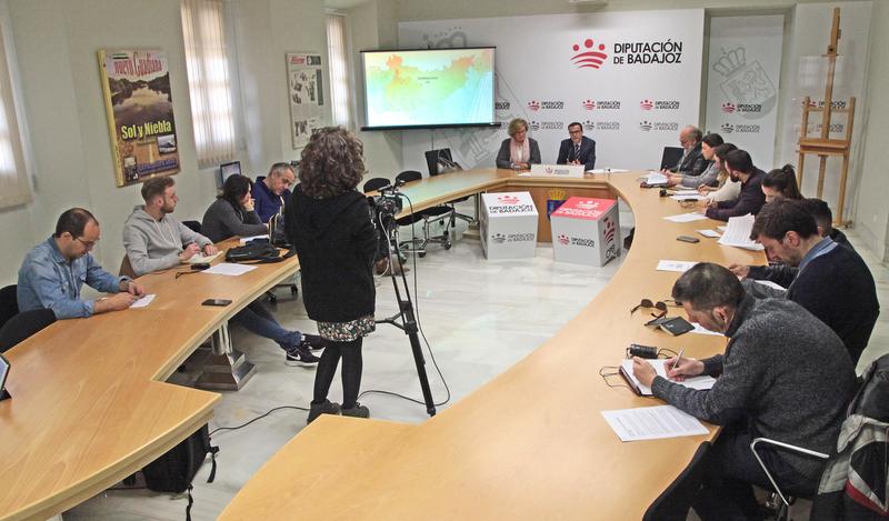 Ibarra, Fademur, La Siberia y el IES 'Vegas Bajas', entre los premiados en el I Día de la Provincia de Badajoz