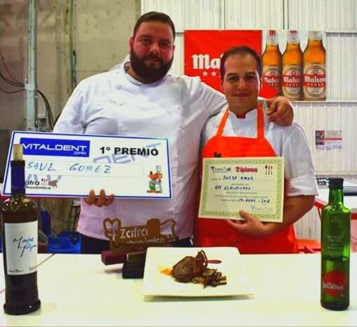 El extremeño Saúl Gómez gana el III Concurso Nacional de Cocina de Zafra