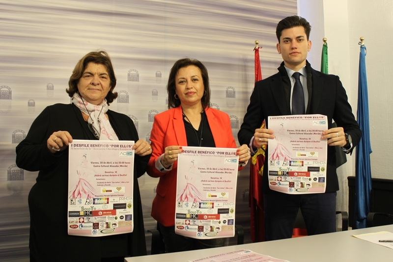 El Centro Cultural Alcazaba acoge el viernes el I Desfile Solidario 'Por ell@s' a beneficio de AOEX