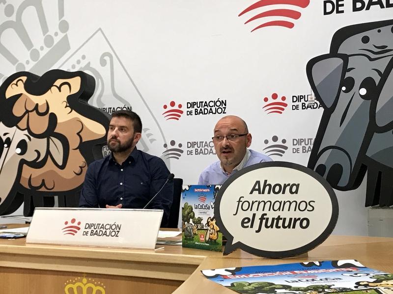 La Diputación de Badajoz promueve tres nuevos programas de Educación Ambiental