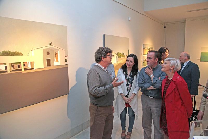 La muestra de Calderón Paredes puede visitarse en la sala Vaquero Poblador de la Diputación