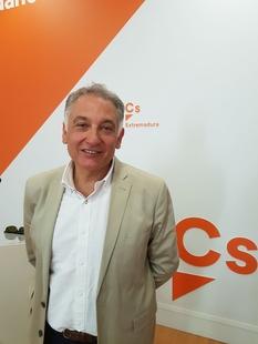 Francisco Piñero Lemus, nuevo coordinador provincial de Ciudadanos en Cáceres