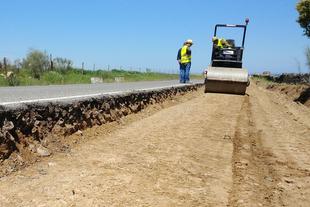 La Diputación acomete obras en la carretera CC-27.1, de Plasenzuela a la A-58