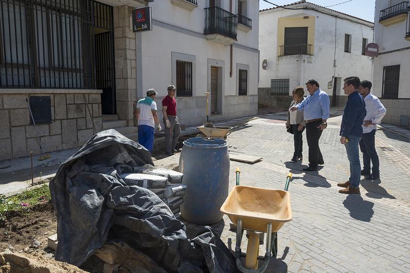 Ibahernando, ejemplo del Plan Activa Empleo, 11 personas trabajando que pueden seguir viviendo en su municipio