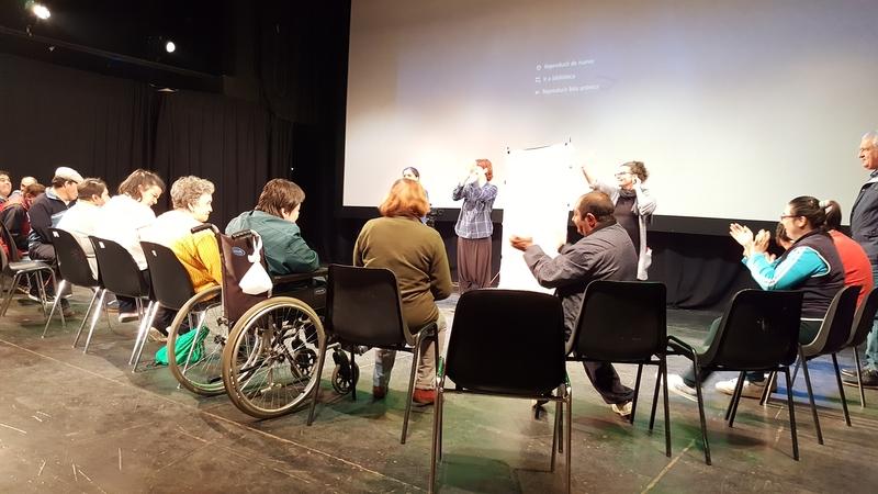 El colectivo Cala reflexiona sobre la discapacidad en los medios