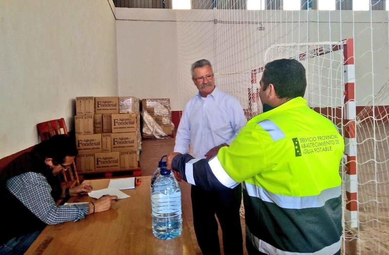 Puebla del Prior se suma a los municipios abastecidos mediante garrafas
