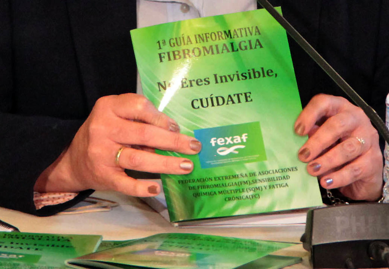Tele5 emite un videoclip sobre fibromialgia patrocinado por la Diputación de Badajoz