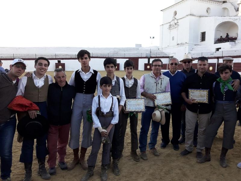 La Escuela Taurina de la Diputación continua cosechando éxitos en los intercambios con otras escuelas españolas