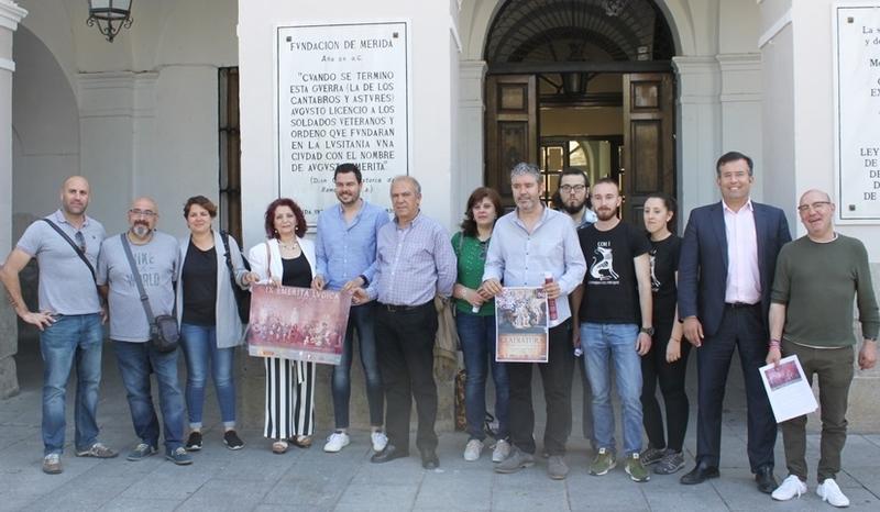 Mérida presenta un amplio programa para celebrar la novena edición de Emérita Lúdica