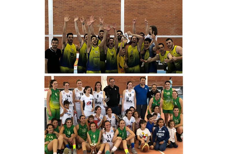 Los cacereños CB Al-Qazeres y ADC Basket, vencedores del XII Trofeo Diputaciones de Cáceres y Badajoz