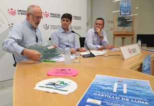La II Travesía Solidaria 'Castillo de Luna' espera reunir a 200 nadadores en el embalse Peña del Águila de Alburquerque