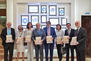 Presentado el libro sobre 'Historia del Ilustre Colegio Oficial de Médicos de la Provincia de Badajoz'
