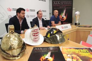 El XIX Campeonato de España Fútbol 7 para Bomberos se desarrollará en Mérida entre los días 30 de mayo y 2 de junio