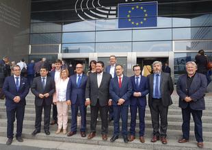 Miguel Ángel Gallardo asiste al Comité Político de Partenalia