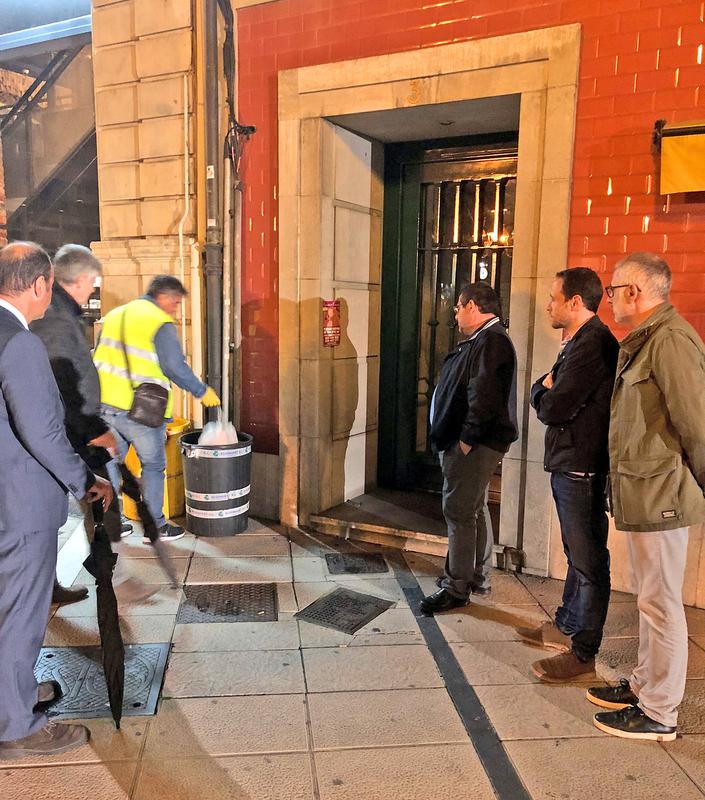 La Diputación de Badajoz analiza experiencias de recogida de residuos orgánicos en Asturias