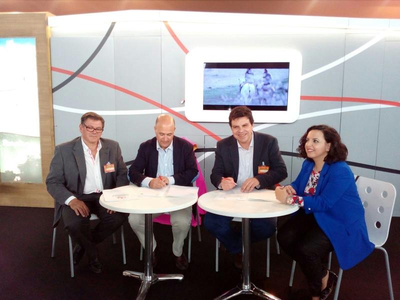 La Diputación renueva el convenio de colaboración con la Federación Taurina de Extremadura