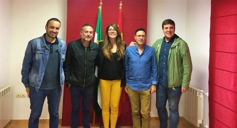 Carlos Gañán se estrena como primer alcalde de la entidad local La Moheda de Gata (Cáceres)