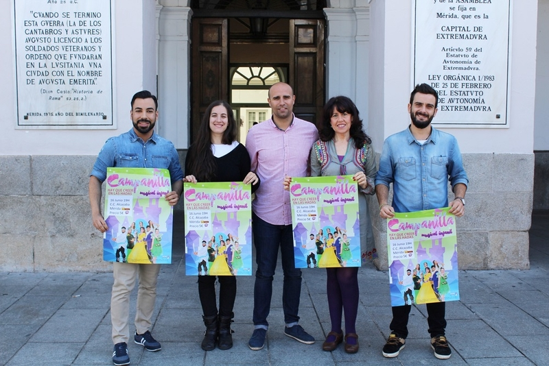 El musical'Campanilla, hay que creer en las hadas' llega al Alcazaba este sábado