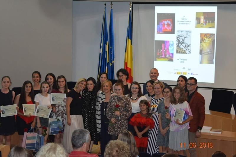 El Certamen Literario de Relato Breve 'Felipe Trigo en Timişoara' alcanza su 5ª edición