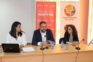 El Ayuntamiento emeritense, Feafes Mérida y Fundación Mapfre, unidos por el empleo