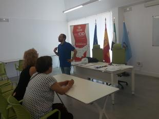 El IMEX imparte un taller formativo en el Centro Integral de Desarrollo Municipios Centr