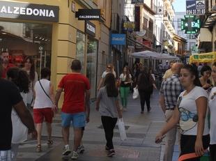Entra en funcionamiento el 'microclima' de la calle Santa Eulalia y alrededores